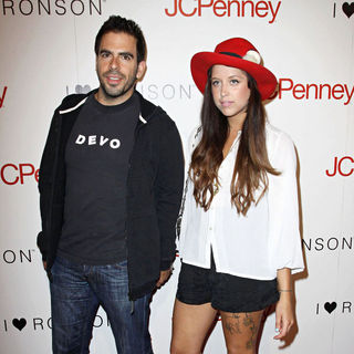 Eli Roth, Peaches Geldof in Charlotte Ronson and JCPenney Spring Cocktail Jam