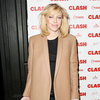 Courtney Love in The Clash Magazine 50th Issue Launch Party