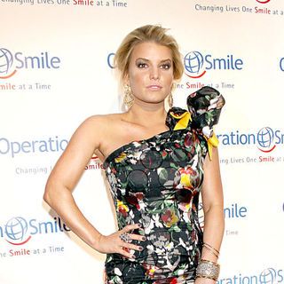 Jessica Simpson in 2010 Operation Smile's Annual Gala