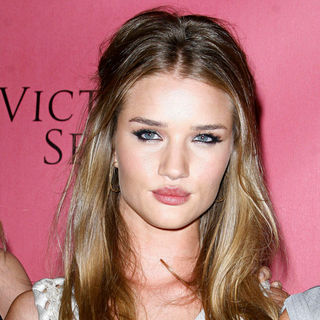 Rosie Huntington-Whiteley in Victoria's Secret Supermodels Celebrate the Reveal of The 2010 'What Is Sexy?' List