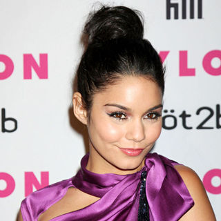 Vanessa Hudgens - The Nylon Magazine Young Hollywood Party 2010