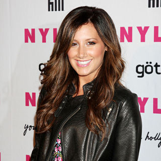 Ashley Tisdale in The Nylon Magazine Young Hollywood Party 2010