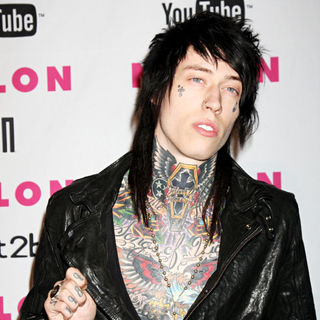 Trace Cyrus in The Nylon Magazine Young Hollywood Party 2010