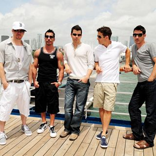 New Kids On The Block in New Kids On The Block Launch Their Concert Cruise