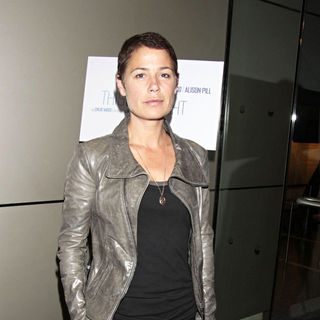 Maura Tierney in The Opening Night of The Off-Broadway Production of 'This Wide Night'