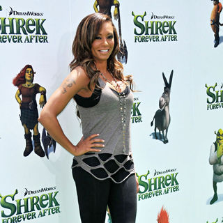 "Melanie Brown in ""Shrek Forever After"" Los Angeles Premiere - Arrivals"