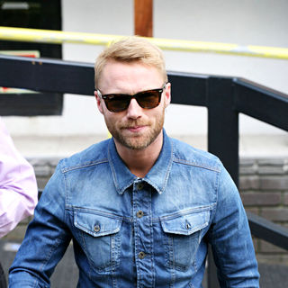 Ronan Keating, Boyzone in Celebrities Outside The ITV Television Studios