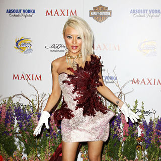 Tila Tequila in Maxim Hot 100 Party With Harley-Davidson, Absolut Vodka, Ed Hardy Fragrances and Rogaine