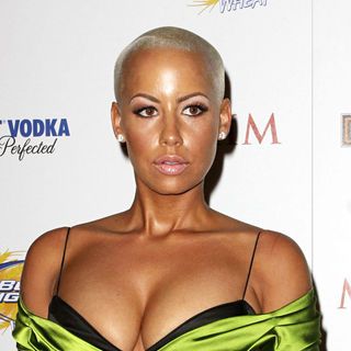 Amber Rose in Maxim Hot 100 Party With Harley-Davidson, Absolut Vodka, Ed Hardy Fragrances and Rogaine