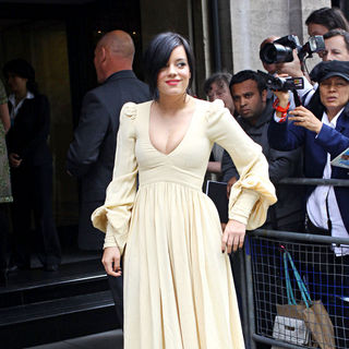 Lily Allen - The Ivor Novello Awards - Arrivals