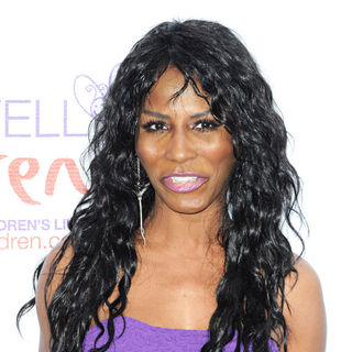 Sinitta in The Caudwell Children Butterfly Ball