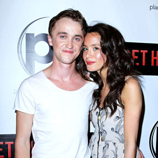 Tom Felton, Jade Gordon in Las Vegas Screening of 'Get Him to the Greek'