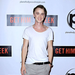 Tom Felton in Las Vegas Screening of 'Get Him to the Greek'