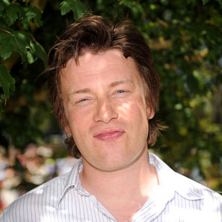 Jamie Oliver in The Chelsea Flower Show - Press & VIP Day