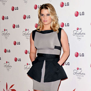 Jessica Simpson in A Night Of Fashion & Technology With LG Mobile Phones