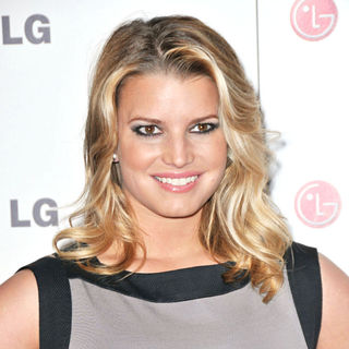 Jessica Simpson in A Night Of Fashion & Technology With LG Mobile Phones hosted by Victoria Beckham and Eva Longoria