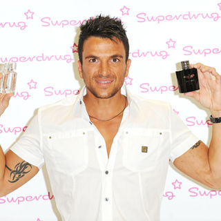 Peter Andre in Peter Andre launches his new mens frangrance 'Conditional'