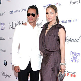 Marc Anthony, Jennifer Lopez in NEON Charity Gala in Aid of The IRIS Foundation
