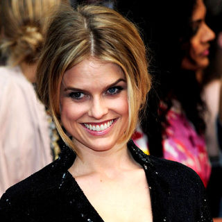 Alice Eve in 'Sex and the City 2' UK Film Premiere