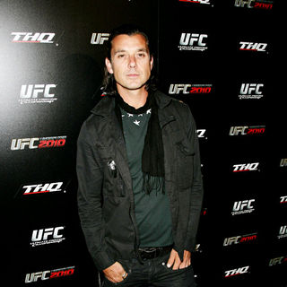 Gavin Rossdale in UFC Undisputed 2010 Launch Party