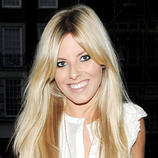 Mollie King, The Saturdays in Mollie King Arrives at The May Fair Hotel for Dinner