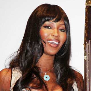 Naomi Campbell in The Louis Vuitton Case Which Will Carry The World Cup to South Africa is Unveiled