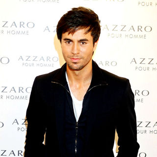 Enrique Iglesias in The Azzaro Pour Homme Party