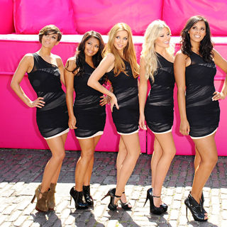 The Saturdays in T-Mobile's Big Sofa/Night In Launch