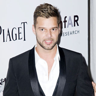 Ricky Martin in 2010 amfAR New York Inspiration Gala - Arrivals