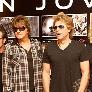 Bon Jovi Attend a Photocall Ahead of Their Performance at Rock in Rio Madrid 2010