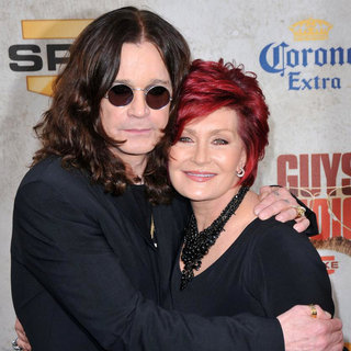 Ozzy Osbourne, Sharon Osbourne in Spike TV's 'Guys Choice Awards' - Arrivals