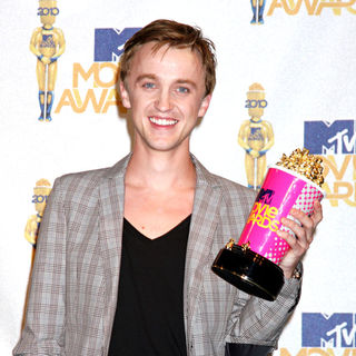 Tom Felton in 2010 MTV Movie Awards - Press Room
