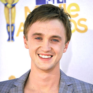 Tom Felton in 2010 MTV Movie Awards - Arrivals