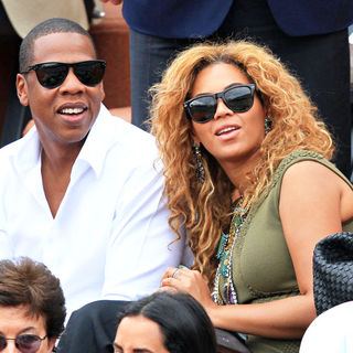 Jay-Z - Celebrities Watch The Men's Final Match Between Rafael Nadal and Robin Soderling