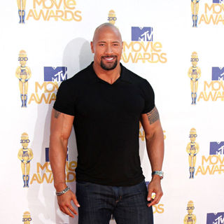 The Rock in 2010 MTV Movie Awards - Arrivals