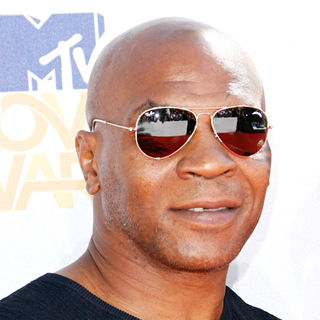 Mike Tyson in 2010 MTV Movie Awards - Arrivals
