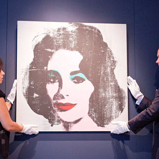 A Portrait of Elizabeth Taylor by Andy Warhol - wenn2879039