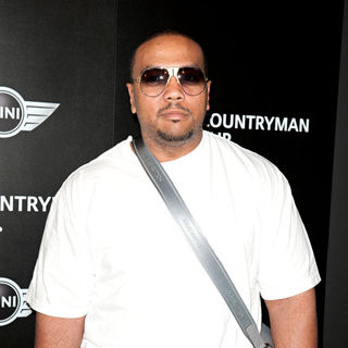 Timbaland in Photocall at The Mini Showroom