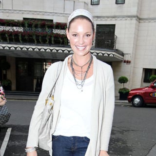 Katherine Heigl in Katherine Heigl Outside The Dorchester
