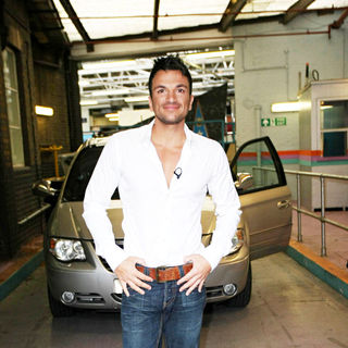 Peter Andre in Peter Andre Outside The ITV Studios