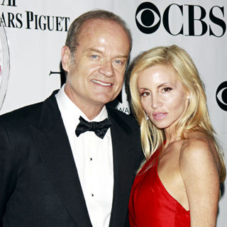 Kelsey Grammer, Camille Donatacci in The 64th Tony Awards - Arrivals