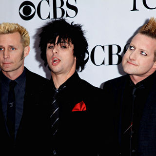 Green Day in The 64th Tony Awards - Arrivals