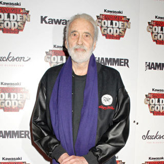 Christopher Lee in The Metal Hammer Golden Gods Awards