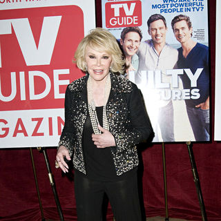 Joan Rivers in TV Guide Magazine Celebrates The Power List and Upcoming 3000th Issue - Arrivals