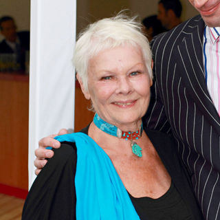 Judi Dench in Terrence Higgins Trust's Friends for Life Gala Dinner