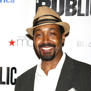 Jesse L. Martin in After Party for The Opening Night of 'The Merchant of Venice'
