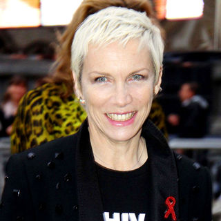 Annie Lennox in Dolce & Gabbana's '20 Years of Menswear' Party During Milan Fashion Week Spring/Summer 2011
