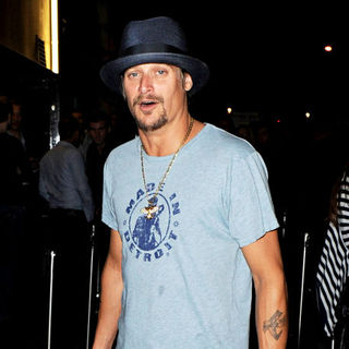 Kid Rock in Kid Rock Arrives at Boujis Club Smoking A Cigar