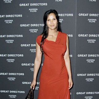 "Padma Lakshmi in New York Premiere of ""Great Directors"" - Arrivals"