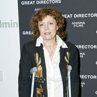 "Susan Sarandon in New York Premiere of ""Great Directors"" - Arrivals"